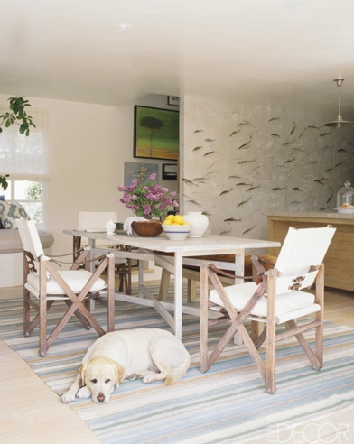 de Gournay, Swimming with the Fishes.  Design :: Jeffrey Alan Marks
