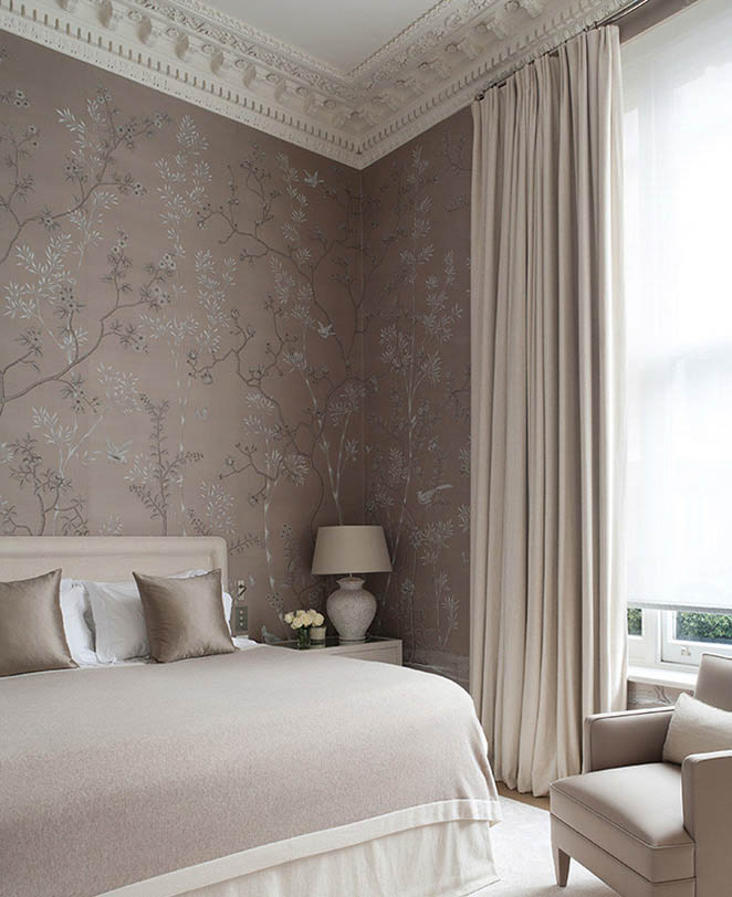 de Gournay, Portobello.  Design :: Tod Hunter, Earle Interiors.