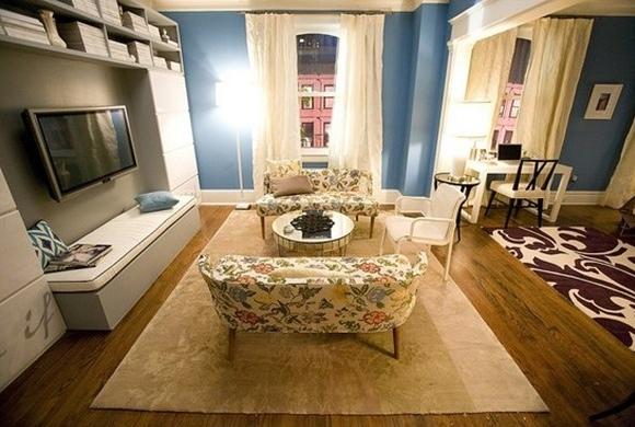 carrie+bradshaw+SATC+movie+living+room