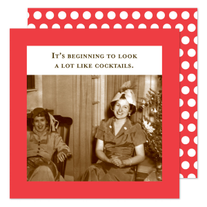 Holiday Cocktails Napkin from INeedADrink.com