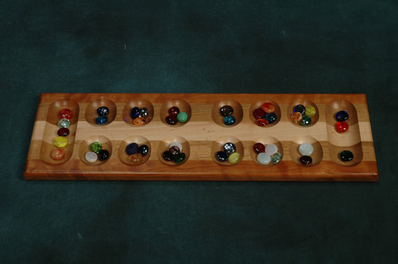 Mancala Set from etsy