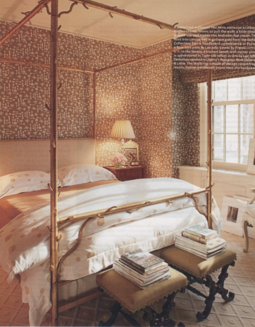 gold+canopy+bed+brettVdesign