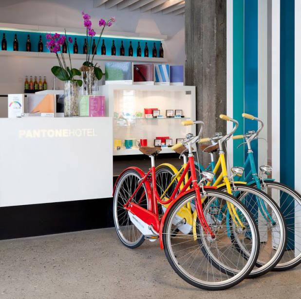 pantone+hotel+lobby+bicycles+brettVdesign
