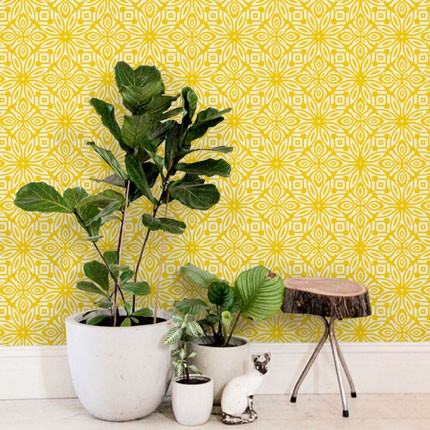 simple shapes :: geo flowers