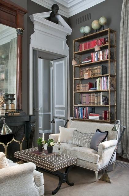 Apartment on the rue des Saints pères, Paris designed by Jean-Louis Deniot