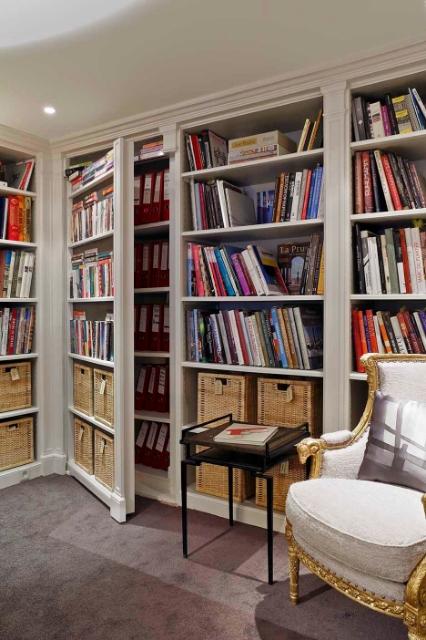 jean+louis+deniot+office+fake+wall+paris+brettVdesign