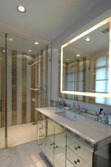 jean-louis deniot+gold+mirror+bathroom+brettVdesign