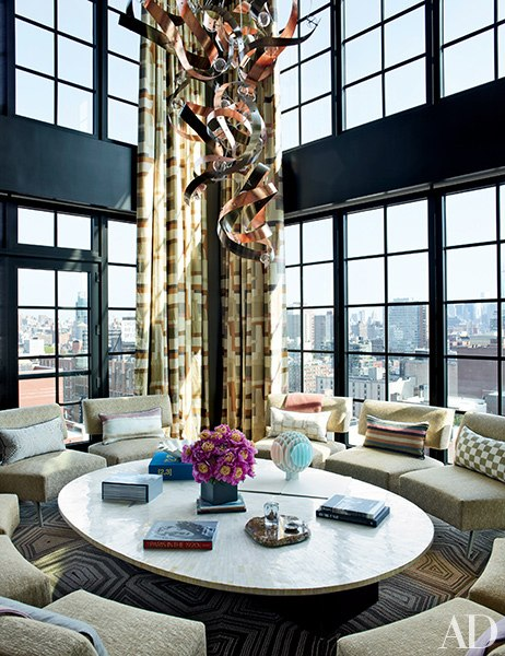 A NYC apartment designed by Jean-Louis Deniot, seen in Architectural Digest