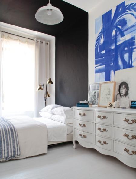 studio apartment+focus wall+olympia bermann+brettVdesign