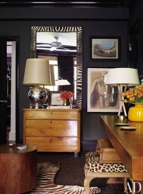 design :: lambertson truex.  Seen in Architectural Digest
