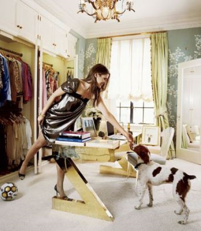 aerin+lauder+dressing+room+nyc+desk+dog+brettVdesign