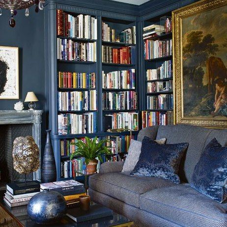 aerin+lauder+NYC+den+bookshelves+brettVdesign