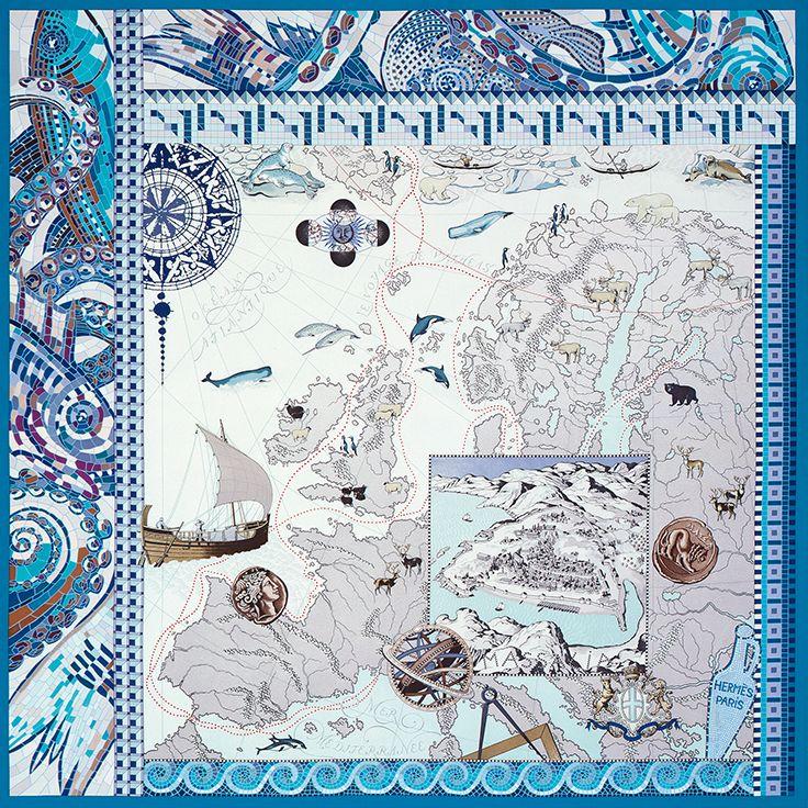 LE VOYAGE DE PYTHÉAS+hermes+silk+scarf.jpg