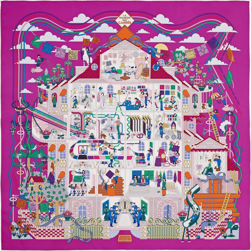 La Maison des Carres+hermes+scarf.jpg