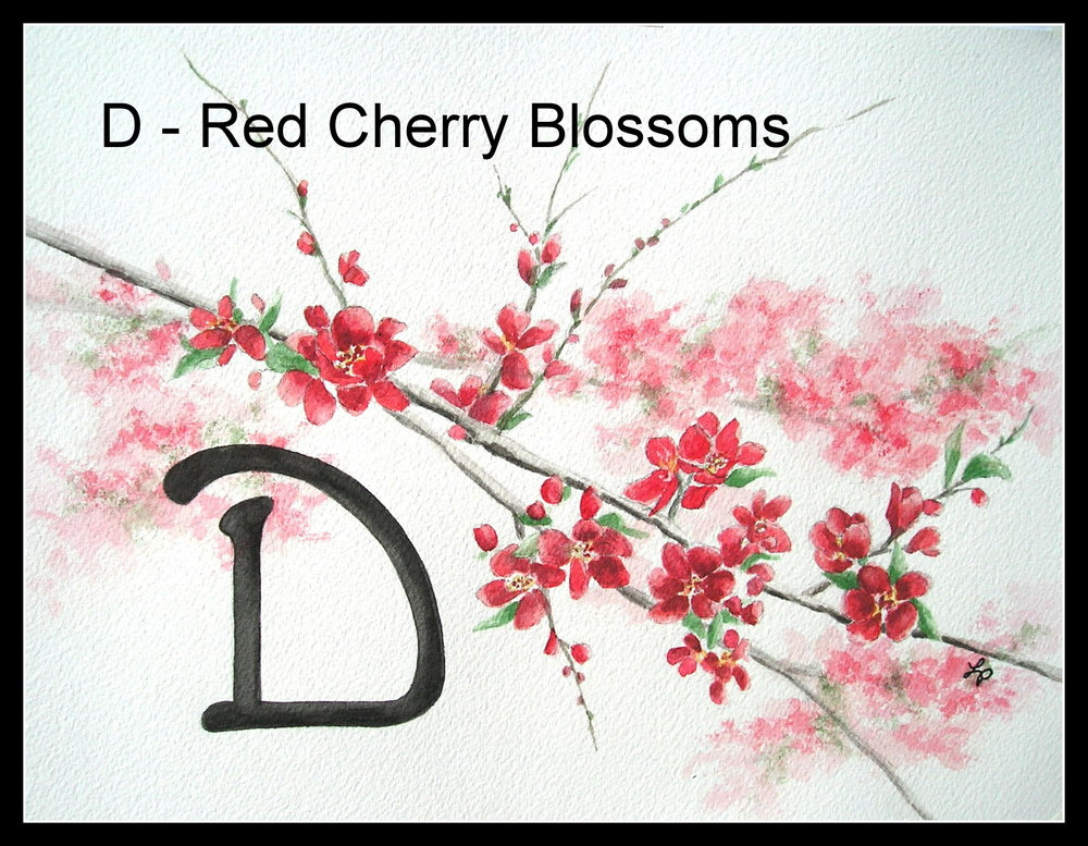 Copy of Red Cherry Blossoms
