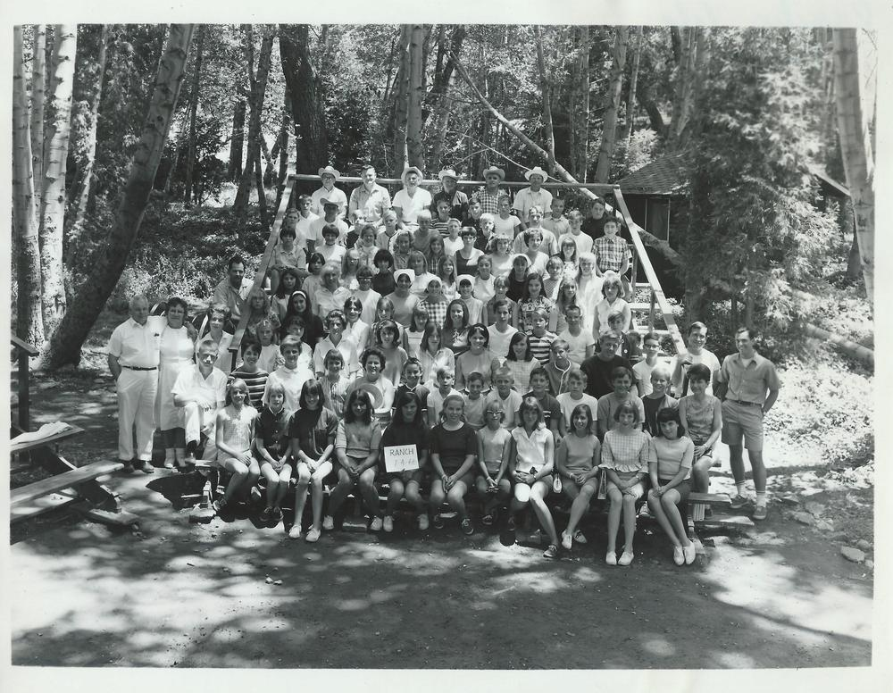 Camp Rancho at Forest Home. 1966