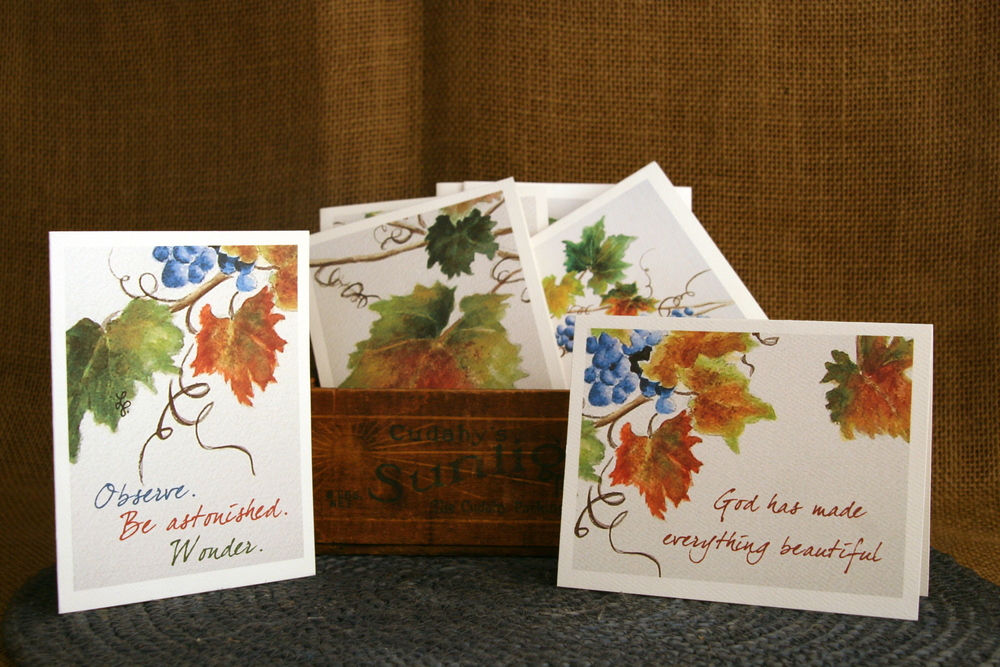 Autumn Encouragement Cards - 8 Card Set  Click  HERE  for details