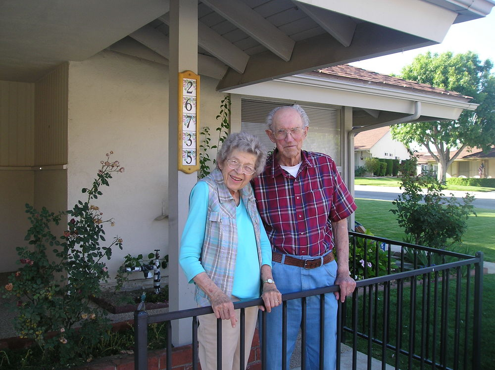 Mom and Dad arrive at their new, smaller home.  June 2011