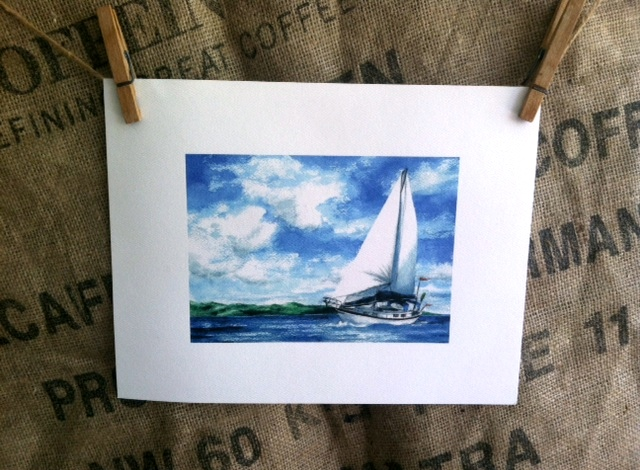 COME SAIL AWAY    -  SIZE:  5 X 7