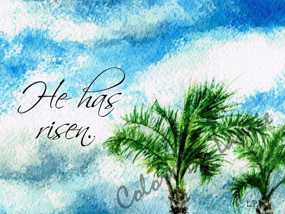 INSIDE:   Rejoicing in the best news ever…  Happy Resurrection Day!