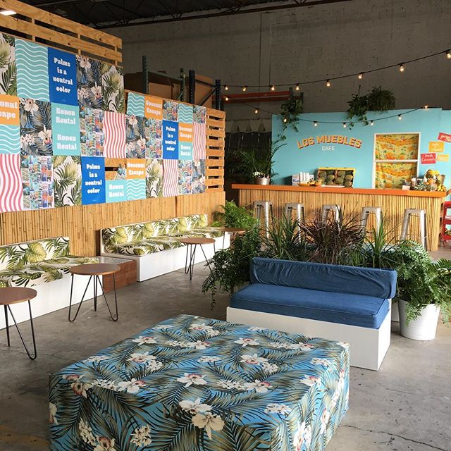Thank you everyone for stopping by our coconut escape happy hour this past weekend we had a great time sipping on ginger beers and fresh coconuts 😋🍍 special thanks to our contributors who helped us transform our warehouse to this cool island shack @rosesetpivoines @illumene @impressdcmedia @fufisempanadas