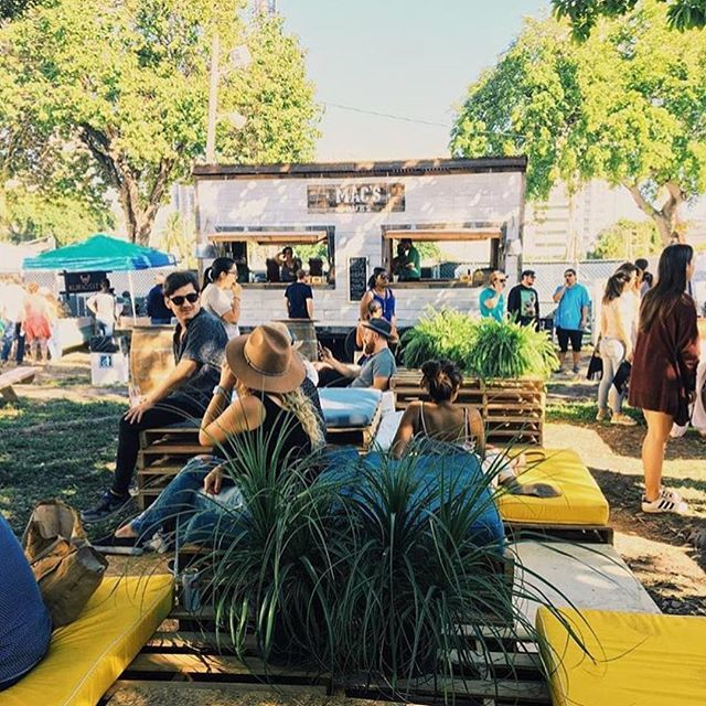 Our chill lounge at @miamiflea. @prismcreative.group⚡️we had so much fun! (📸 @aedistrictmiami)