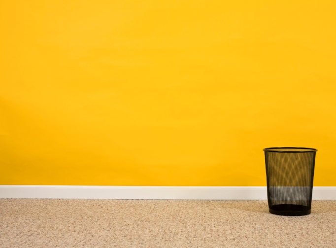 Adr insight diy sos tenants painted my living room for Neon yellow wall paint