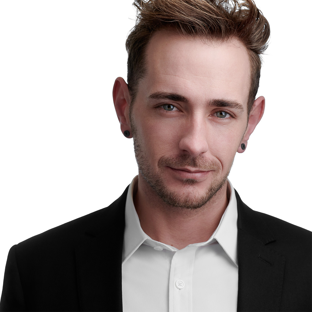 Lancaster Professional Modeling Headshots - Brandon Lesagonicz