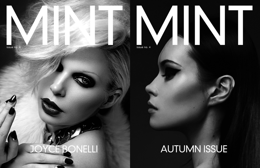COVER LEFT: JOYCE BONELLI BY VIJAT MOHINDRA COVER RIGHT: AUTUMN ISSUE BY KONSTANTIN SOROKIN