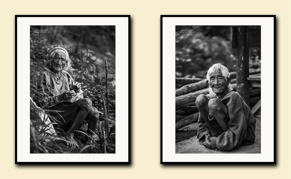 The Ifugao's, Batad, Ifugao,Philippines,fine art prints on textured cotton paper, doublematted (archival)with hardwood frame.Available in printsizes A4, A3,A2 and A1.