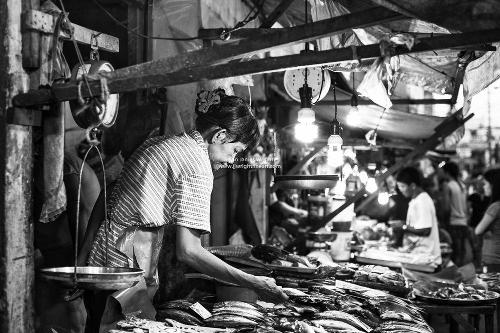 Street Market, Malibay, Pasay City, Metro Manila, Philippines