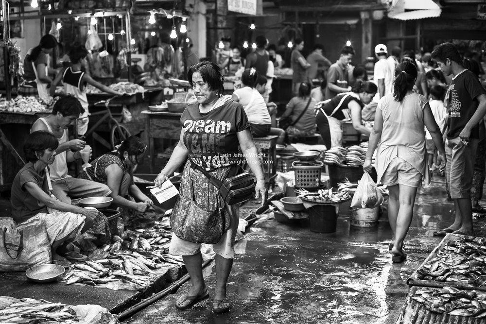 Lingayen Public Market, Pangasinan, Luzon, Philippines