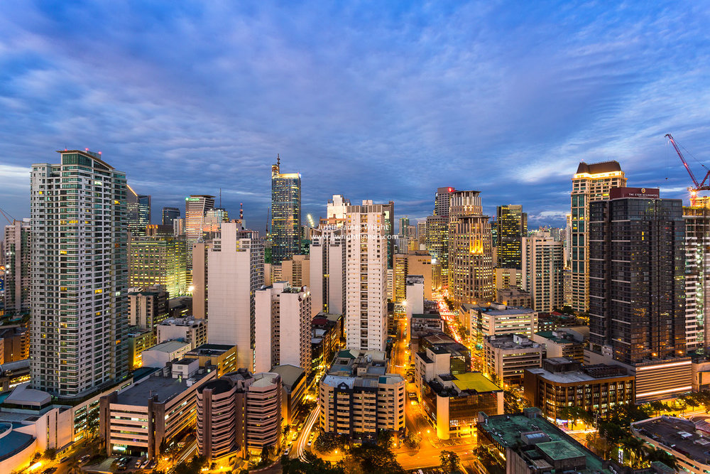 Makati City Central Business District, Metro Manila, Philippines (Study 2)
