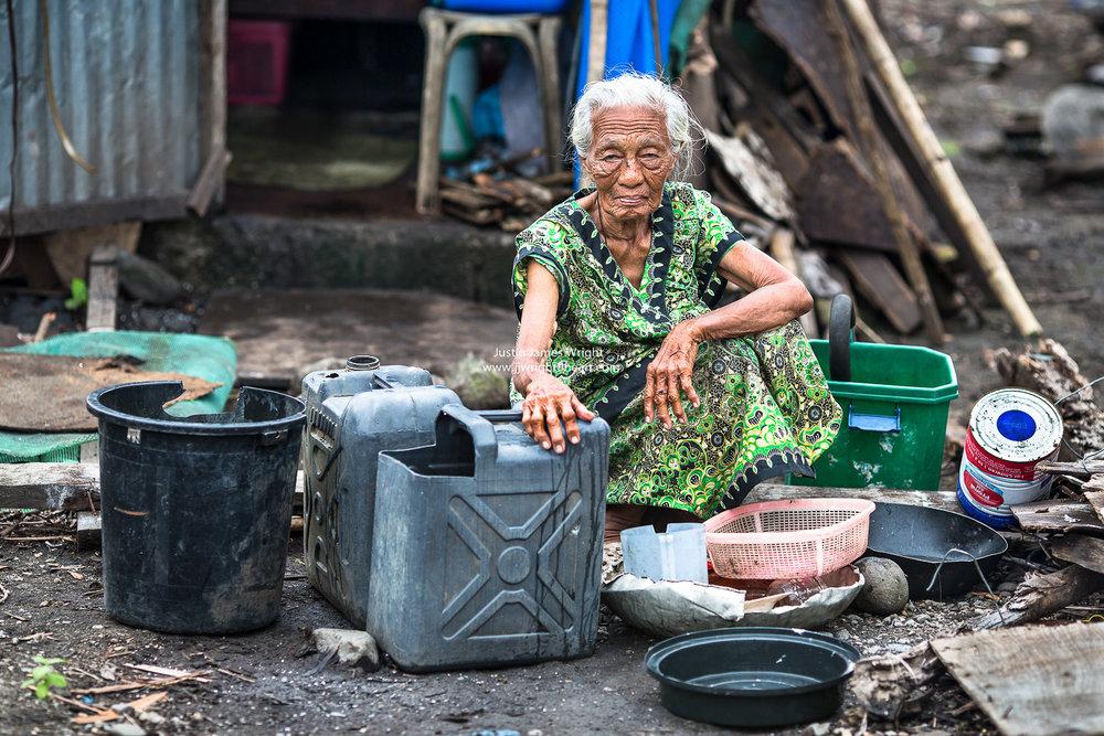 Survivor of Typhoon Yolanda (Haiyan) - Leyte, Visayas, Philippines. Truly amazing Resilience