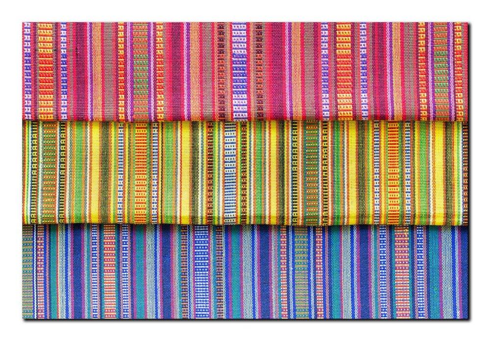 Sinaluan Cloth from the Yakan People, Basilan Island, Mindanao, Philippines, Card Ref: 2017 - 035