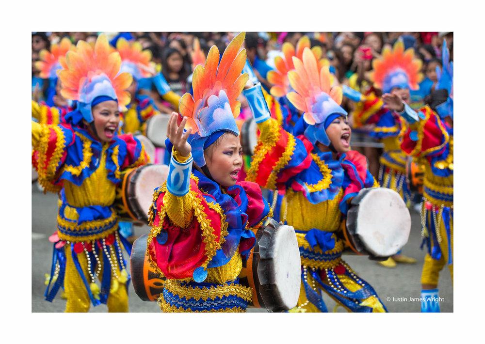 Sinulog festival, Cebu, Visayas, Philippines