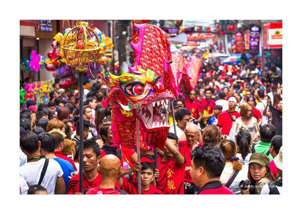 Chinese New Year celebrations, Binondo, Manila, Philippines