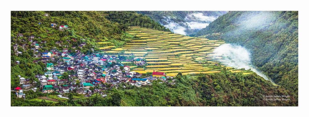 Bayyo rice terraces, Mountain Province, Cordillera, Philippines. a UNESCO World Heritage site