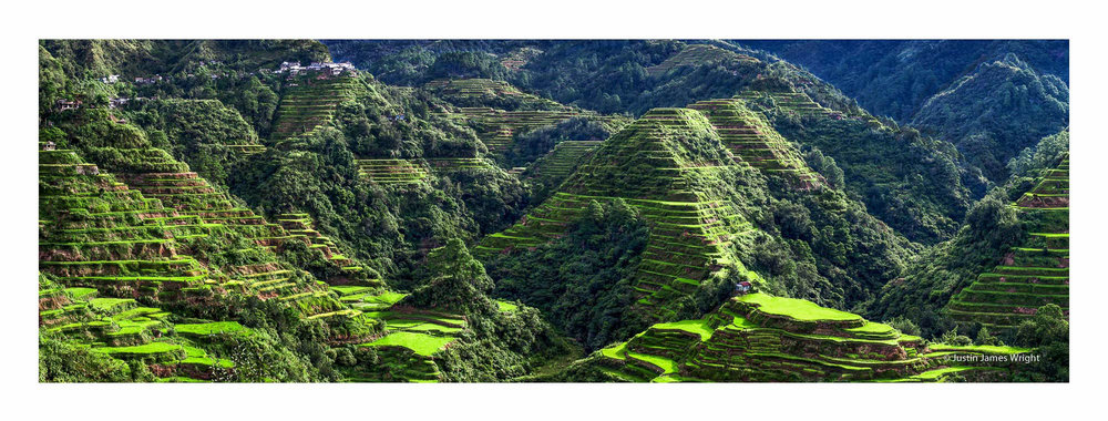 Banaue rice terraces, Ifugao, Cordillera, Philippines. A UNESCO World Heritage Site, built around two thousand years ago by the indigenous people of the Cordillera.