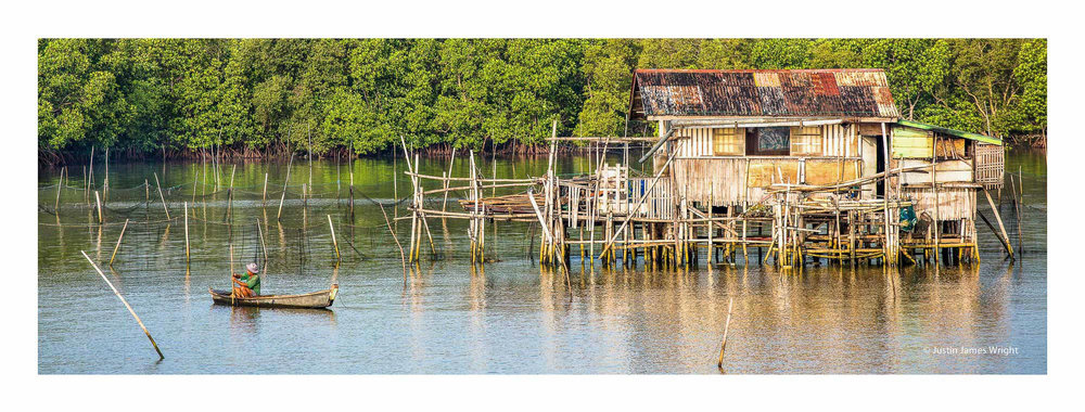 Fisherman's hut, Cavite, Philippines