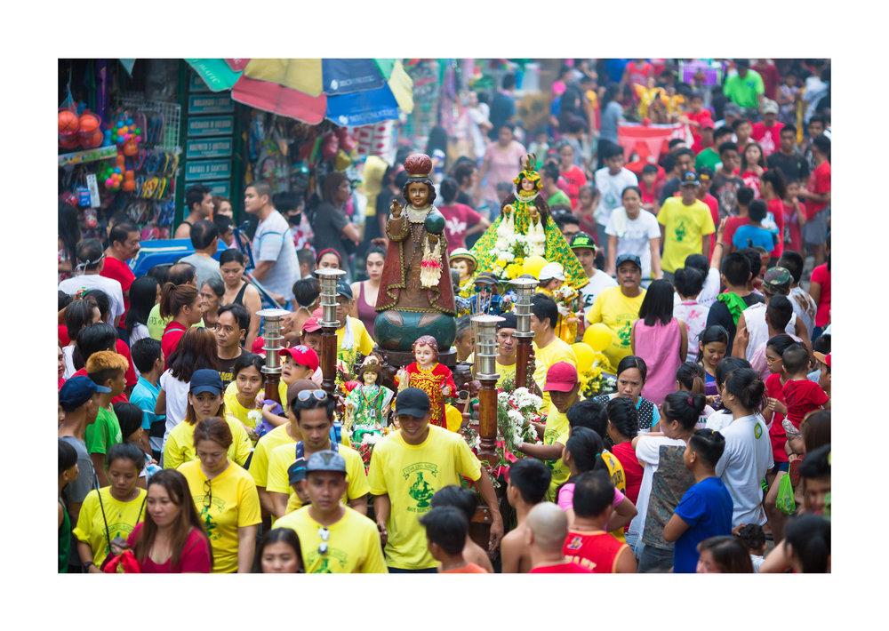 Sto. Nino celebrations, Malibay, Pasay City, Metro Manila, Philippines