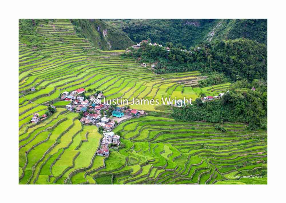 Batad Rice Terraces ,  Banaue, Ifugao, Cordillera, Philippines.  A UNESCO World Heritage Site, built around two thousand years ago by the indigenous people of the Cordillera.