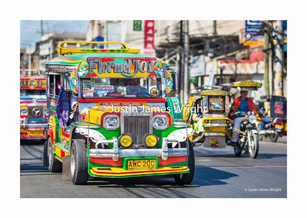 Colourful Philippine Jeepney   Dagupan City, Pangasinan, Philippines