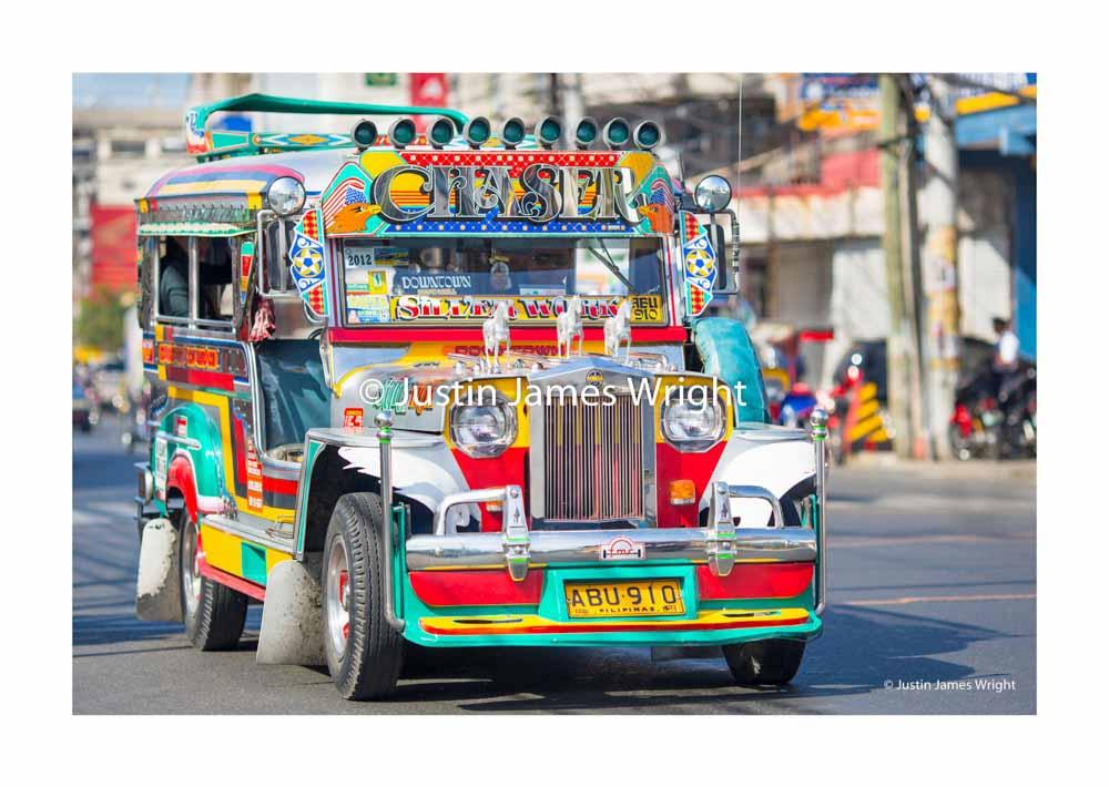 Philippine Jeepney ,  Dagupan City, Pangasinan, Philippines