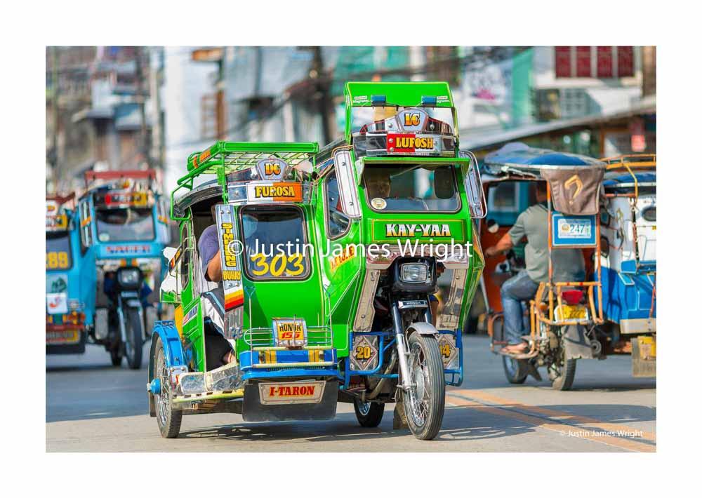 Philippine Tricycle   Bontoc, Mountain Province, Cordillera, Philippines