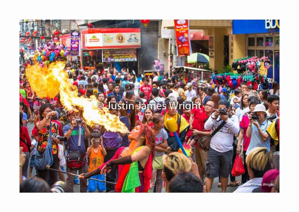 Chinese New Year Celebrations   Manila China Town, Binondo, Manila, Philippines