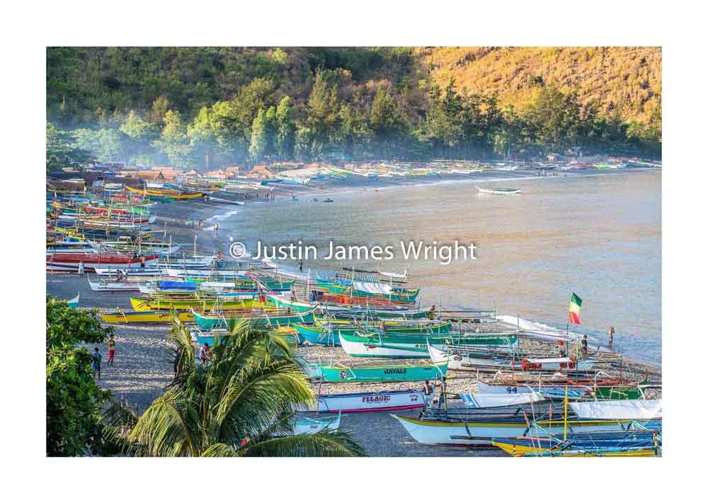 Fishing village of Pundaquit   Zambales, Luzon, Philippines