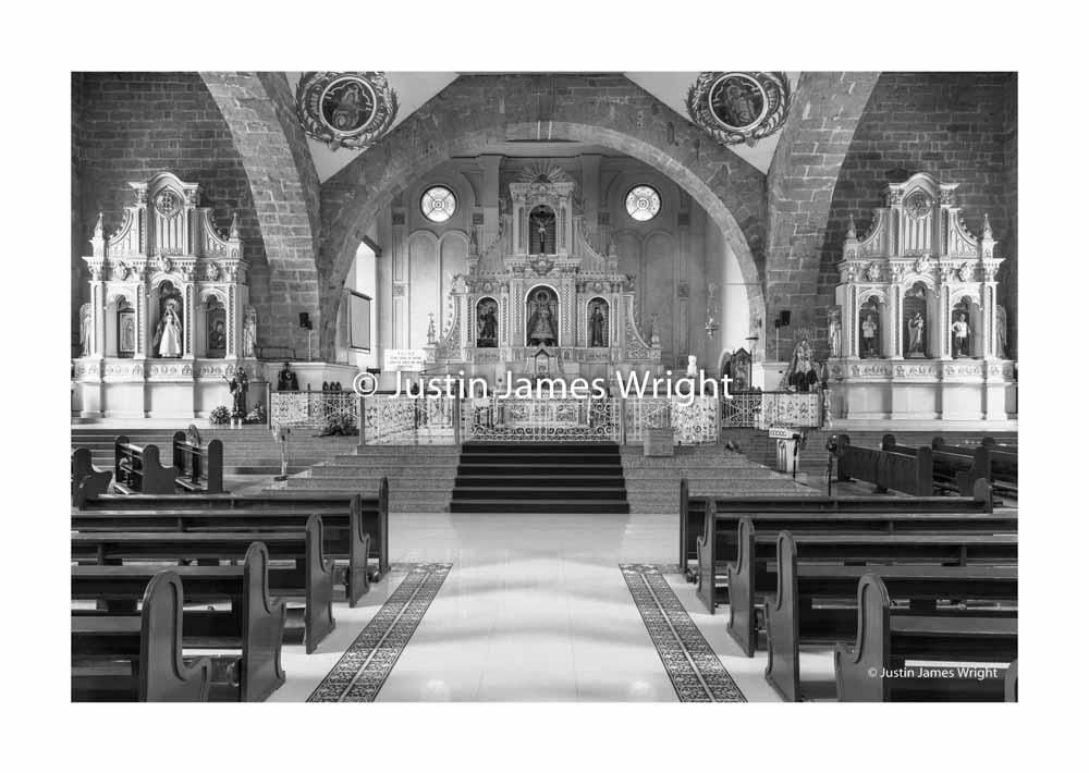 San Isidro Labrador Church, Pulilan, Bulacan, Philippines (above and below)