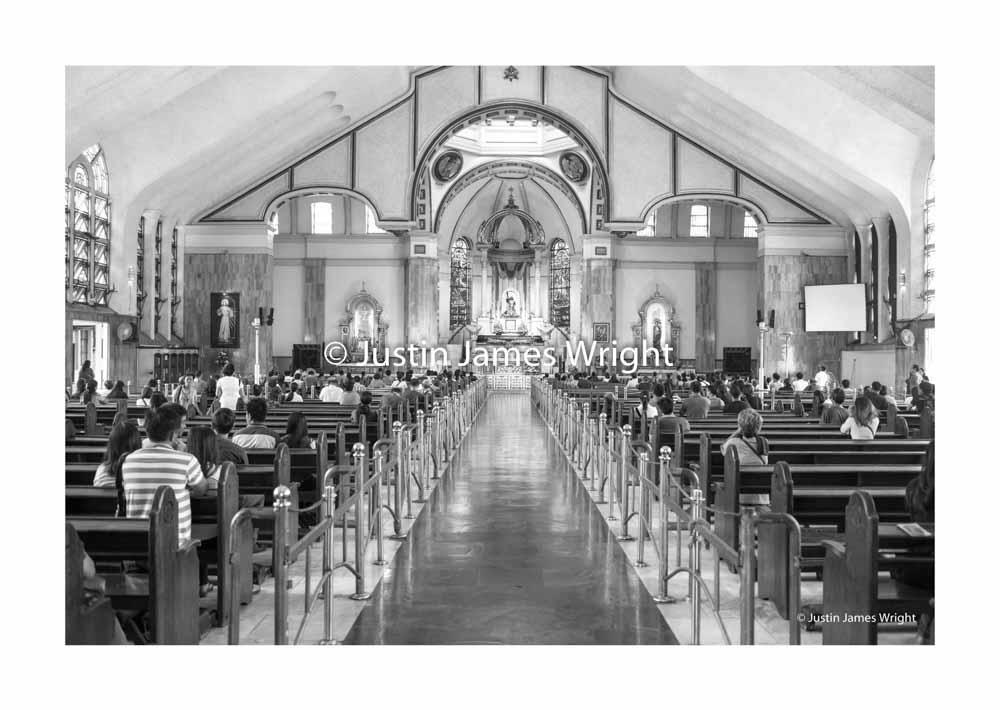 The Minor Basilica of the Black Nazarene Church  Quiapo, Manila, Philippines