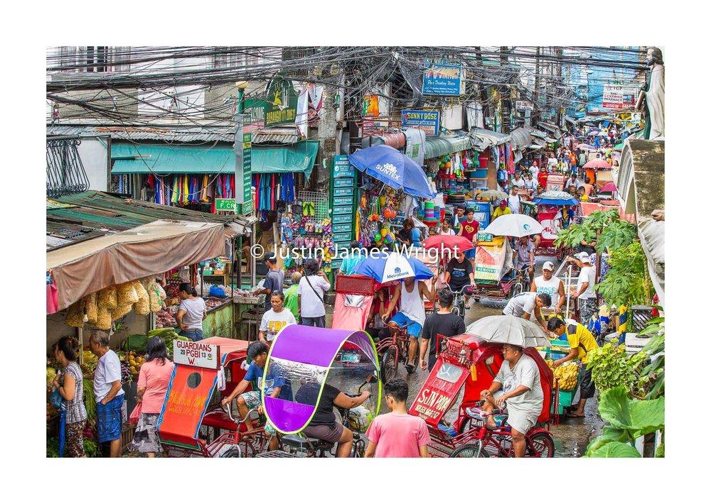 Everyday Street Scene   Malibay, Pasay City, Metro Manila, Philippines